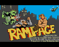 Rampage (1989, Monarch Development)